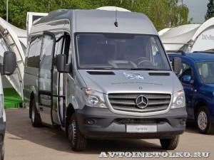 Mercedes-Benz Sprinter автобус Люкс Луидор тест-драйв в Крылатском май 2014 - 1