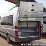 Mercedes-Benz Sprinter автобус Люкс Луидор тест-драйв в Крылатском май 2014 - 2