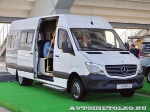 Mercedes-Benz Sprinter маршрутка чайная церемония тест-драйв в Крылатском май 2014 - 1