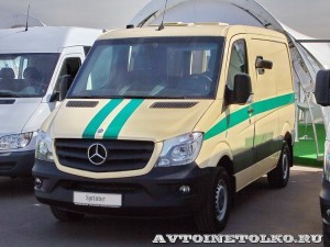 Mercedes-Benz Sprinter инкассаторский Евраком тест-драйв в Крылатском май 2014 - 1
