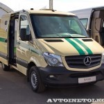Mercedes-Benz Sprinter инкассаторский Евраком тест-драйв в Крылатском май 2014 - 2