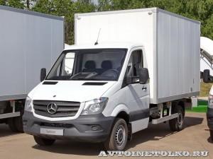 Mercedes-Benz Sprinter промтоварный фургон ЦТТМ тест-драйв в Крылатском май 2014 - 1