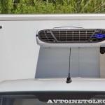 Mercedes-Benz Sprinter фургон изотерм ЦТТМ с ХУ Carrier тест-драйв в Крылатском май 2014 - 2