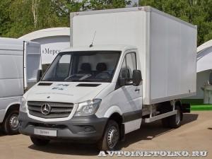 Mercedes-Benz Sprinter фургон изотерм АМЗ 1 тест-драйв в Крылатском май 2014 - 1