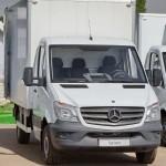 Mercedes-Benz Sprinter промтоварный фургон ЦТТМ тест-драйв в Крылатском май 2014 - 2