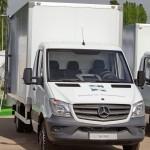 Mercedes-Benz Sprinter фургон изотерм АМЗ 1 тест-драйв в Крылатском май 2014 - 2