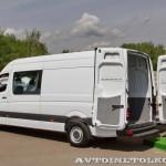 Mercedes-Benz Sprinter грузопассажирский люкс Евраком тест-драйв в Крылатском май 2014 - 5