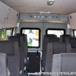 Mercedes-Benz Sprinter Classic корпоративный автобус Луидор тест-драйв в Крылатском май 2014 - 4