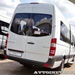 Mercedes-Benz Sprinter маршрутка 28 мест Луидор тест-драйв в Крылатском май 2014 - 2
