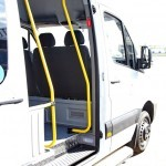 Mercedes-Benz Sprinter маршрутка 28 мест Луидор тест-драйв в Крылатском май 2014 - 6