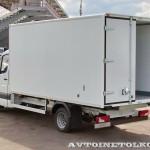 Mercedes-Benz Sprinter фургон изотерм ЦТТМ с ХУ Carrier тест-драйв в Крылатском май 2014 - 6