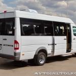 Mercedes-Benz Sprinter Classic корпоративный автобус Луидор тест-драйв в Крылатском май 2014 - 6