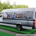 Mercedes-Benz Sprinter маршрутка чайная церемония тест-драйв в Крылатском май 2014 - 2