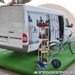 Mercedes-Benz Sprinter Classic с велосипедами тест-драйв в Крылатском май 2014 - 3