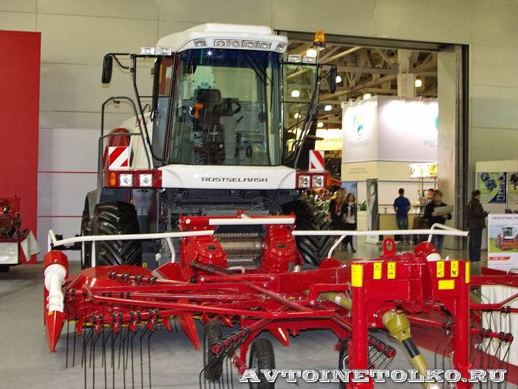 Ростсельмаш на выставке Агросалон 2012