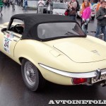 Jaguar Type E Roadster 1974 на ралли Bosch Moskau Klassik 2014 - 1