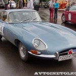 Jaguar Type E 1963 на ралли Bosch Moskau Klassik 2014 - 6