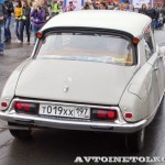 Citroen ID 19 1968 на ралли Bosch Moskau Klassik 2014 - 2