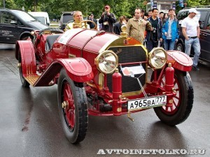 Locomobile Model 48 1914 на ралли Bosch Moskau Klassik 2014 - 1