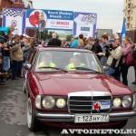 Mercedes-Benz 230 W-123 1980 на ралли Bosch Moskau Klassik 2014 - 1
