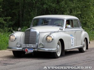 Mercedes-Benz 300 W-186 1953 на ралли Bosch Moskau Klassik 2014 - 3