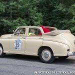 ГАЗ М20А Победа кабриолет 1954 на ралли Bosch Moskau Klassik 2014 - 4