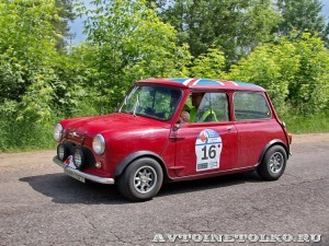 Mini Mark I 1962на ралли Bosch Moskau Klassik 2014 - 3