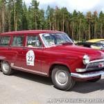 ГАЗ М22 Волга 1963 на ралли Bosch Moskau Klassik 2014 - 2