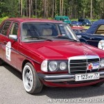 Mercedes-Benz 230 W-123 1980 на ралли Bosch Moskau Klassik 2014 - 4