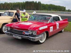 Cadillac Series 62 1960 на ралли Bosch Moskau Klassik 2014 - 2
