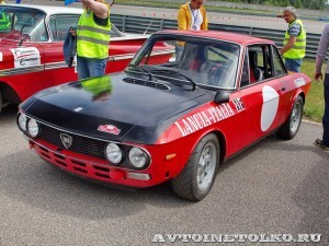 Lancia Fulvia Monte-Carlo 1975 на ралли Bosch Moskau Klassik 2014 - 4