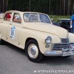 ГАЗ М20А Победа кабриолет 1954 на ралли Bosch Moskau Klassik 2014 - 3