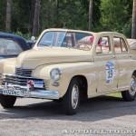ГАЗ М20А Победа кабриолет 1954 на ралли Bosch Moskau Klassik 2014 - 2