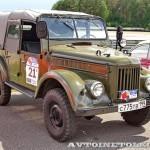 ГАЗ 69А 1963 на ралли Bosch Moskau Klassik 2014 - 2