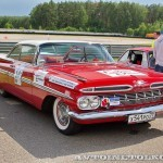 Chevrolet Impala 2-Door Coupe 1960 на ралли Bosch Moskau Klassik 2014 - 2