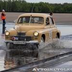 ГАЗ М20 Победа 1950 на ралли Bosch Moskau Klassik 2014 - 4