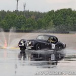 Jaguar XK 120 1952 на ралли Bosch Moskau Klassik 2014 - 3