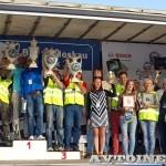 Награждение призеров ралли Bosch Moskau Klassik 2014 - 1