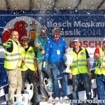 Награждение призеров ралли Bosch Moskau Klassik 2014 - 4