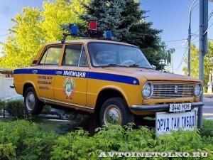 памятник ВАЗ 21011 ГАИ на Щелковском шоссе - 3