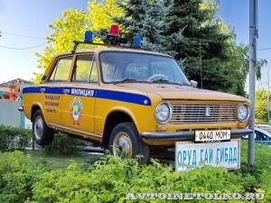 памятник ВАЗ 21011 ГАИ на Щелковском шоссе - 4