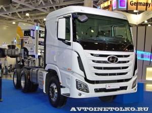 шасси Hyundai Xcient P380 6х4 на выставке COMTRANS-13 - 1