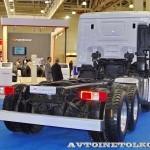 шасси Hyundai Xcient P380 6х4 на выставке COMTRANS-13 - 2