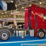 Магистральный тягач Hyundai Xcient P410 4x2 на выставке COMTRANS-13 - 4