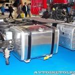 Магистральный тягач Hyundai Xcient P410 4x2 на выставке COMTRANS-13 - 5