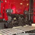 Магистральный тягач Hyundai Xcient P410 4x2 на выставке COMTRANS-13 - 8