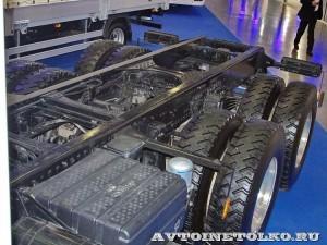 шасси Hyundai Xcient P380 6х4 на выставке COMTRANS-13 - 8