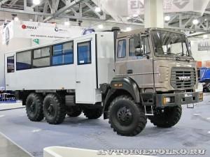 вахтовый автобус Урал 3255-3013-76 на выставке СТТ-2014 - 2