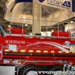 топливозаправщик АТЗ-11-2Б УралСпецТранс на шасси Урал 5557-4112-80М на выставке СТТ-2014 - 2