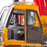 автокран Sany SPC-250 на шасси КамАЗ 65115 на выставке СТТ 2014 - 4